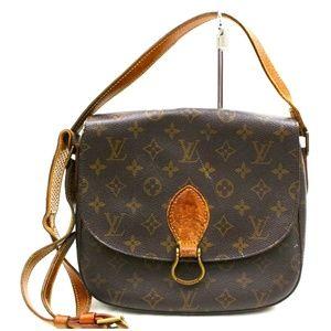 Auth Louis Vuitton Saint Cloud Gm #2434L13
